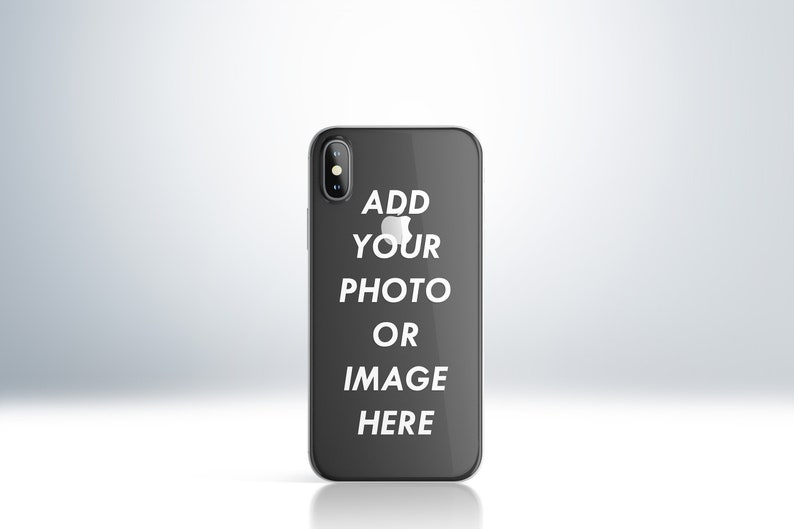 Custom Personalised Photo Phone Clear Case Cover for iPhone 6 image 0