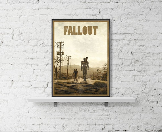 Fallout 11x17 Inspired Art Poster Size A3 A2 12x16 Video Game