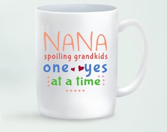 Nana Mug Gift, Gift for Nana Coffee Mug, Mugs with Sayings, Gift from Kids for Nana, Nana Gift Ideas,