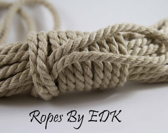 Bondage Rope Natural Hemp Shibari Rope