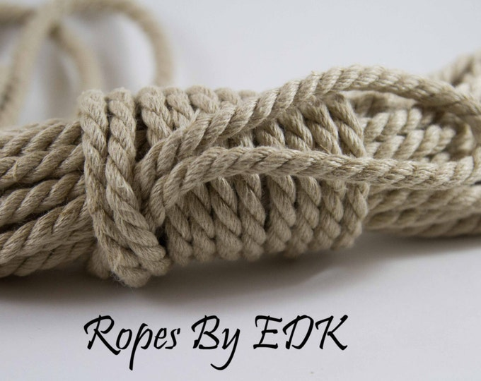 Bondage Rope Natural Hemp Shibari Rope Mature