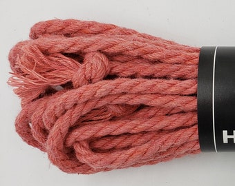 Hemp Bondage Rope Salmon Shibari 6mm Mature