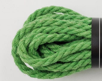 Hemp Bondage Rope Brilliant Green Shibari 6mm Mature