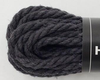 Black Hemp Bondage Rope Shibari 6mm Mature