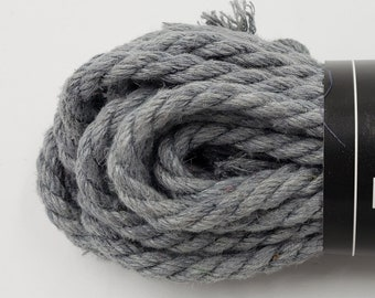 Hemp Bondage Rope Gray Shibari 6mm Mature