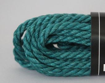 Dark Teal Hemp Bondage Rope Shibari 6mm