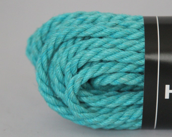 Blue Topaz Hemp Bondage Rope Shibari 6mm