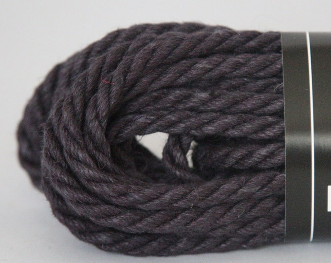Black Hemp Bondage Rope Shibari  6mm