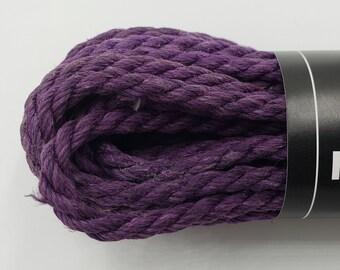 Hemp Bondage Rope Grape Shibari 6mm Mature