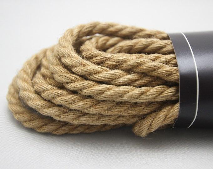 Natural Jute Bondage Rope Shibari Rope Mature