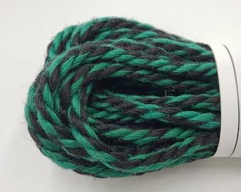 Jute Bondage Rope Black and Green Shibari Rope Mature