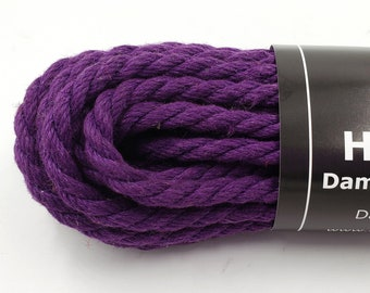 Hemp Bondage Rope Grape Shibari 6mm Mature