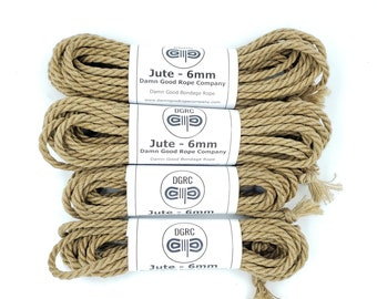 Jute Bondage Rope Shibari Rope Booster Kit Mature