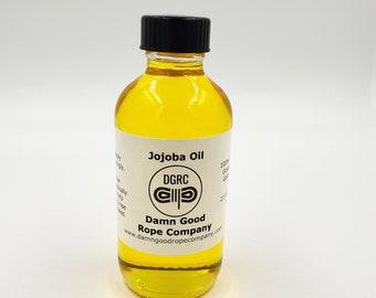 Bondage Rope Jojoba Oil! 4 oz of 100% Pure Unrefined Natural Cold Pressed Grade A Jojoba Oil