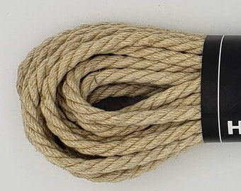 Hemp Bondage Rope Natural Shibari Rope Mature