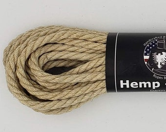Bondage Rope Hemp Shibari Rope Mature
