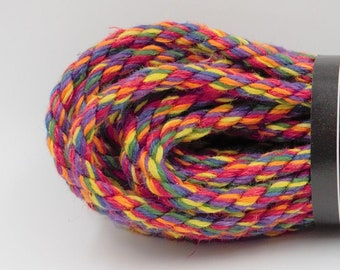 UNICORN ROPE Rainbow Hemp Bondage Rope MASH up Shibari Rope Mature
