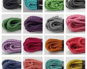 Hemp Bondage Rope Multi Colors Shibari 6mm Mature