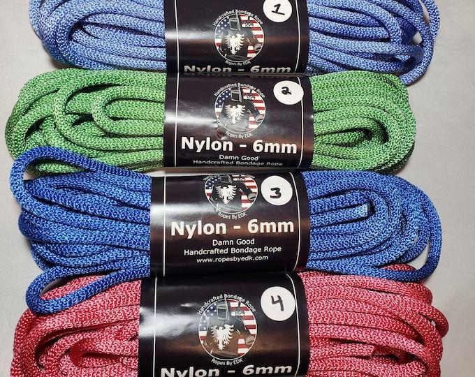 DISCOUNT BIN Nylon Bondage Rope Shibari Rope Synthetic Rope BDSM Bondage Rope Mature