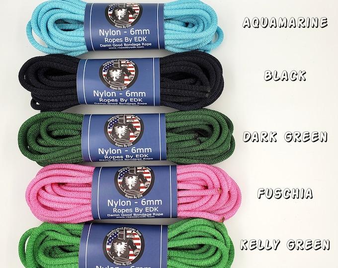 Featured listing image: Nylon Bondage Rope Shibari Rope Nylon Synthetic Rope BDSM Mature