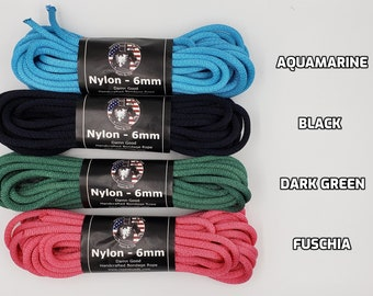 Nylon Bondage Rope Shibari Rope Nylon Synthetic Rope BDSM Mature
