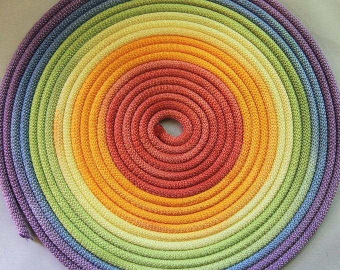 Rainbow Nylon Bondage Rope Shibari Rope Synthetic Rope Mature