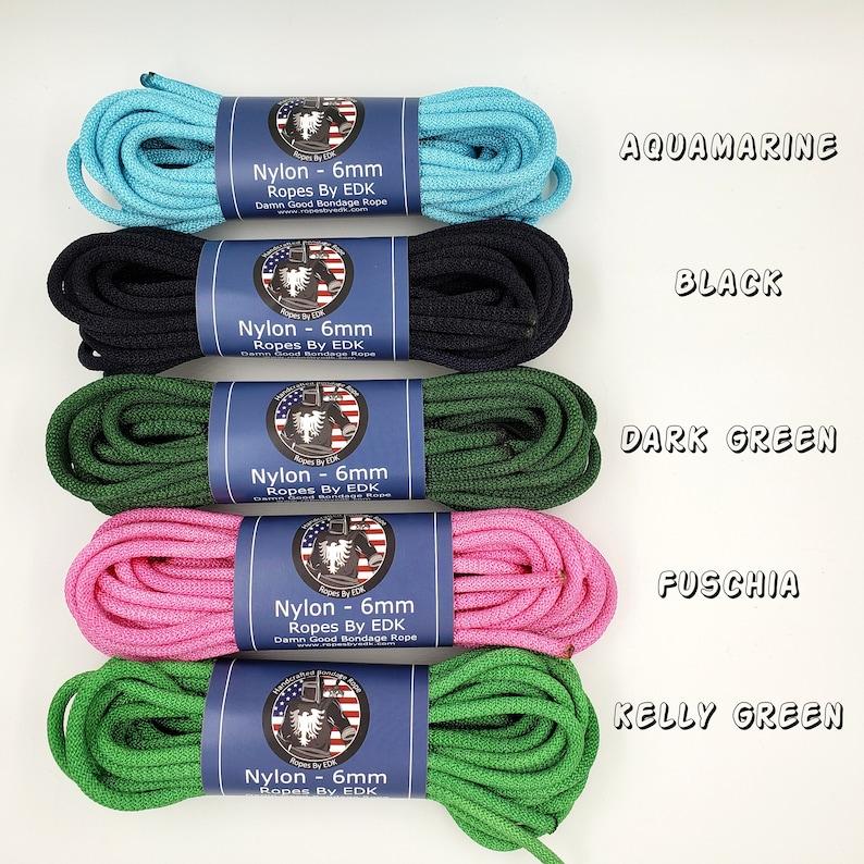 Nylon Bondage Rope Shibari Rope Nylon Synthetic Rope BDSM image 0