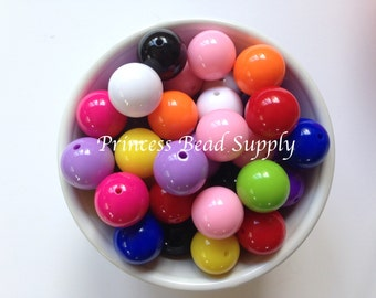100Pcs Mixed color the cat/'s eye acrylic charm beads loose BEAD 14x5mm