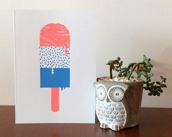 Ice Cream 1 Card