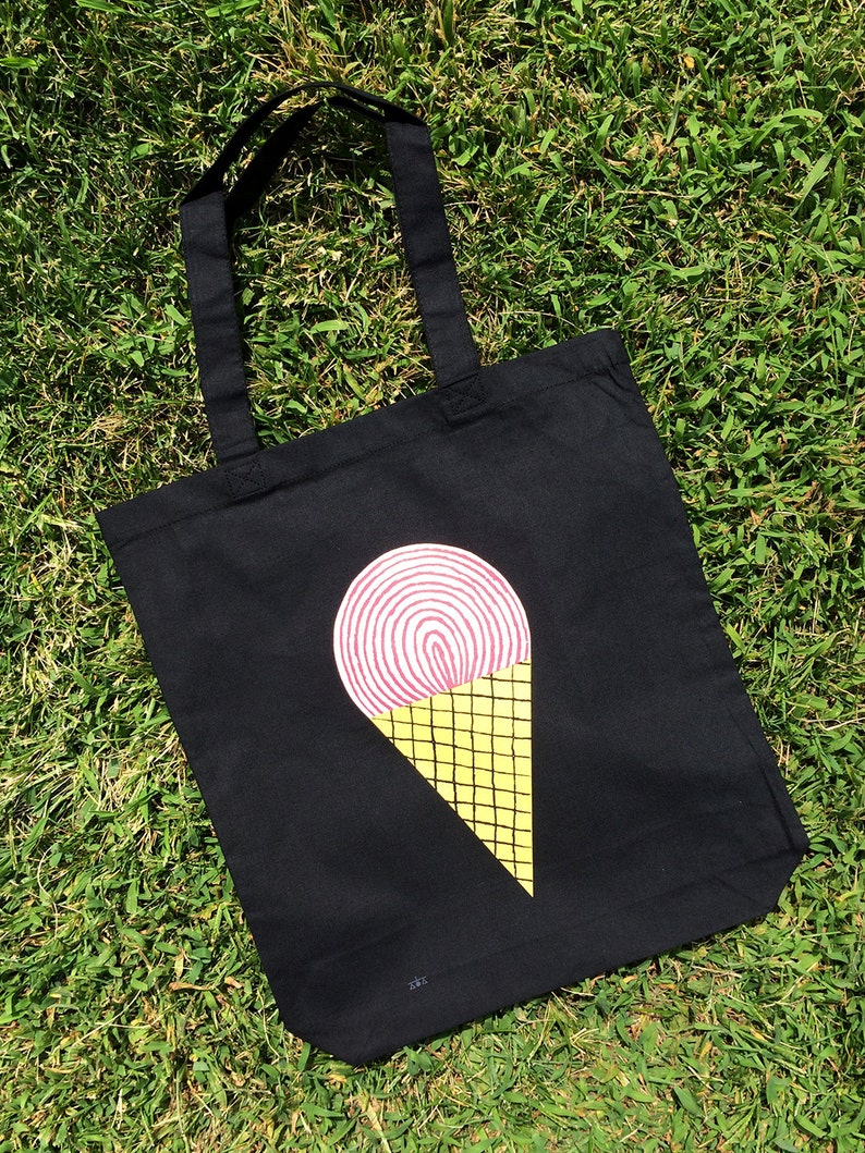 Ice Cream 2 Cotton Tote Bag