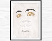 Those Who Don 39 t Believe in Magic Will Never Find it Roald Dahl Quote Printable Literary Print TypeWriter Quotes Bedroom Wall Print Typed