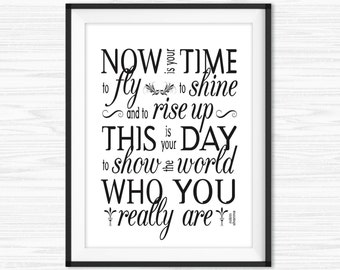 Office Wall Art Motivational Wall Decor Inspirational Quote Success Quotes  Printable Office Quotes Poster Sayings Canvas Quotes Office Decor