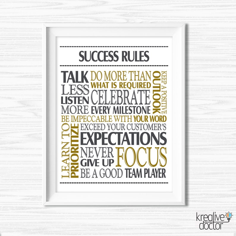 picture relating to Printable Quotes named Printable Prices Poster Printable Wall Artwork Prints Quick Achievements Quotation Prints Place of work Wall Decor Teamwork Quotation Motivational Office environment Decor