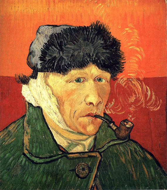 Vincent Van Gogh poster reproduction of painting
