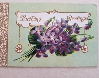 Planners Pen Pals Original Art Print Violet the PostCard