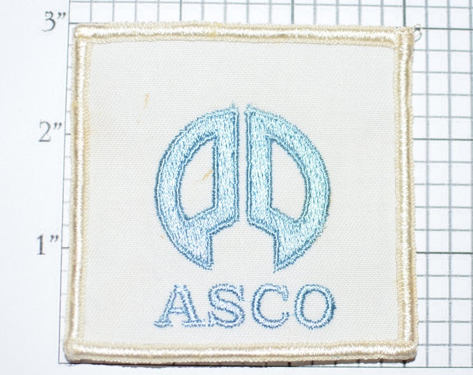 ASCO Space Planning Embroidered Sew-on Patch Collectible Patch Uniform Patch Jacket Patch Hat Patch Shirt Patch e22f