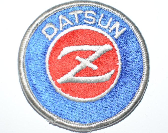 DATSUN Z Patch, Authentic Licensed Vintage Iron-On Patch Nissan, Embroidered Patch, Automobile Patch s1
