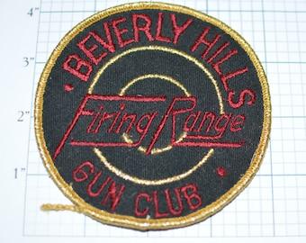 Vintage hunting patch deer hunter Vintage Lehman Lake Gun Club Patch 1907