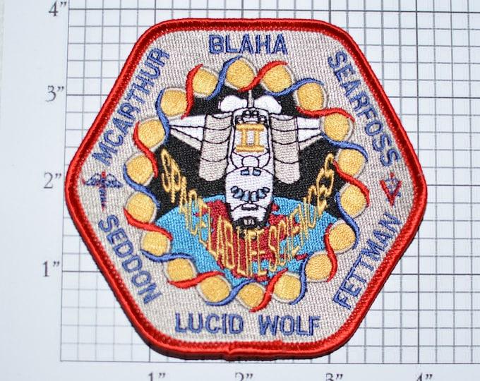 Mint NASA Shuttle STS-58 Space Lab Sciences Iron-on Mission Patch Collectible Patch Uniform Patch Jacket Patch Hat Patch Shirt Patch e22h