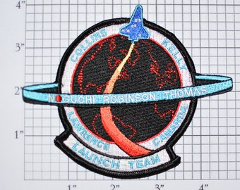Mint NASA STS-114 Shuttle Discovery Launch Team Iron-on Patch Collectible Patch Uniform Patch Jacket Patch Hat Patch Shirt Patch e22h