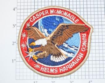 STS-54 Space Shuttle Endeavour Vintage Sew-on Astronaut Mission Patch Collectible Memorabilia NASA Casper McMonagle Helms Harbaugh Runco