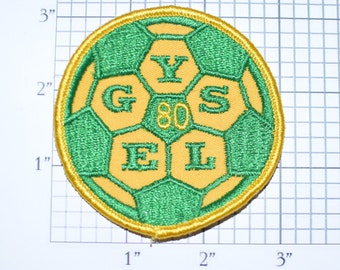 Elk Grove (California) Youth Soccer League (EGYSL) 1980 Sew-on Embroidered Clothing Patch Sports Jacket Vest Jersey Shirt Hat Logo Kids e27r