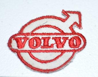 VOLVO Sew-On Authentic Vintage Embroidered Clothing Patch Automobile Manufacturer Garage Mechanic Jacket Shirt Hat Uniform Logo Emblem Crest