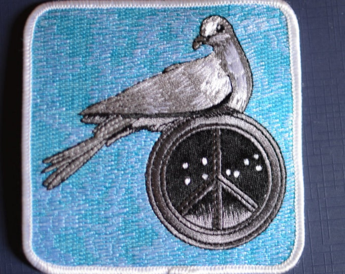 PEACE DOVE Patch by Philip Garris LICENSED Vintage Grateful Dead Patch, Hippie Boho Big Dipper for Jacket Jeans Vest Backpack Music Band bb1