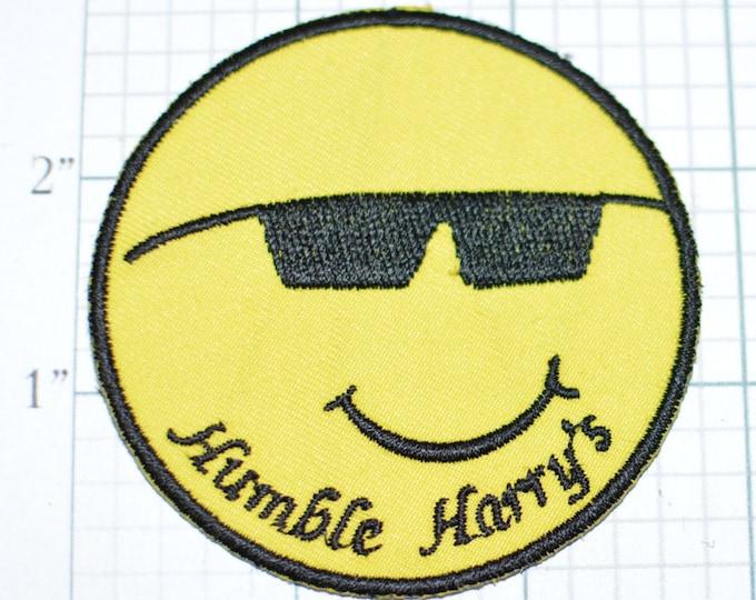 HUMBLE HARRY'S Unique Iron-On Vintage Clothing Patch Jacket Patch Vest Patch Hat Patch Harold f1c