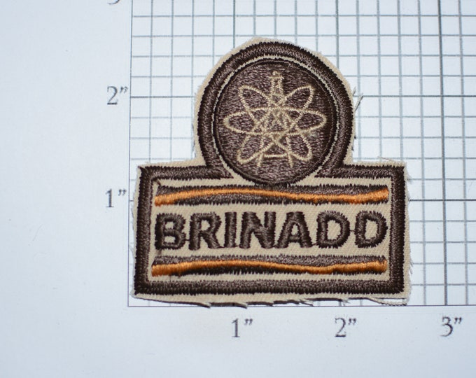 Brinadd Oil & Gas Industry Vintage Iron-on Embroidered Clothing Patch for Employee Uniform Shirt Jacket Vest Emblem Collectible Keepsake