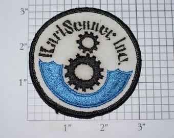 Karl Senner Inc (Marine Propulsion Equipment) Vintage Embroidered Clothing Patch For Employee Uniform Shirt Jacket Vest Collectible Emblem