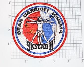 Skylab 2 II Bean Garriott Lousma Vintage Embroidered Clothing Patch NASA Space Mission Aerospace Collectible Memorabilia Astronaut Gift Idea