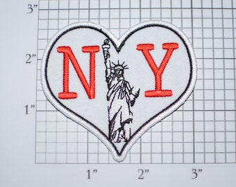 I LOVE HEART NEW YORK UNITED STATES USA AMERICA PIN BADGE 1 x 3//4 inch
