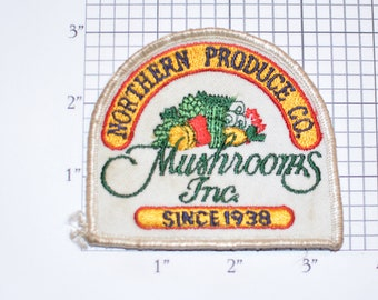 Northern Produce Co Mushrooms Inc Since 1938 (Company Started by Barry Weiss of Storage Wars) VERY RARE Vintage Collectible Keepsake Emblem